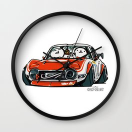 Crazy Car Art 0136 Wall Clock
