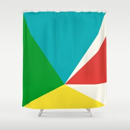 Shifting Perspective Shower Curtain