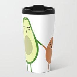 AVOCADO MOMMY AND AVOCADO KID Travel Mug