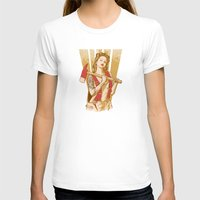 ezra koenig T-shirts featuring axe girl by barmalisiRTB