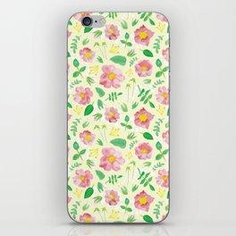 California Rose Pattern iPhone Skin