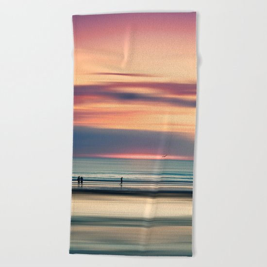 Oceanside Serenity Beach Towel