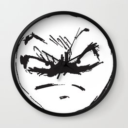 face of weird Wall Clock