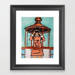 Susy Bishop (Moonrise Kingdom) Framed Art Print