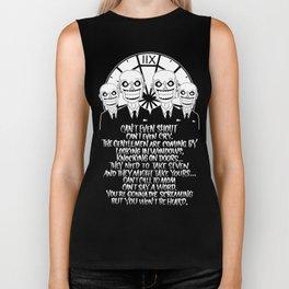 Buffy the Vampire Slayer -- Hush Poster (Black) Biker Tank
