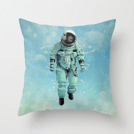 crystallization 3 Throw Pillow