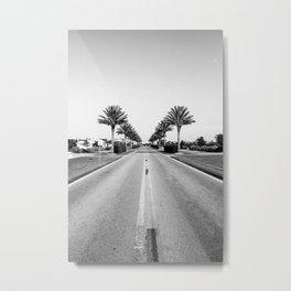 Alys Palms Metal Print