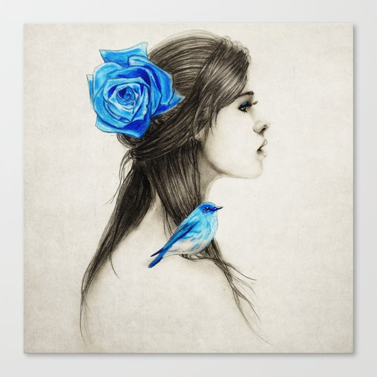 .Dejection Canvas Print