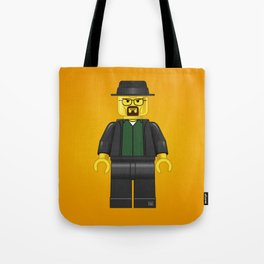 Lego Walter White - Vector Tote Bag