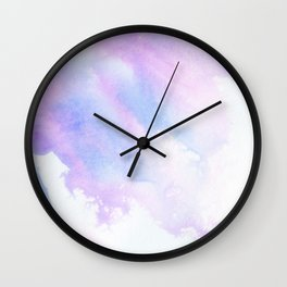 _PURPLE RAIN Wall Clock