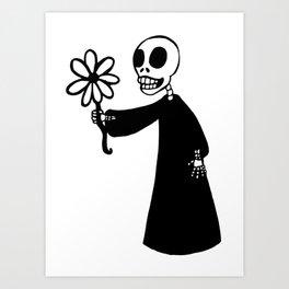 Death's Offering Art Print