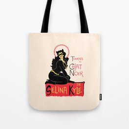 Black Cat Selina Tote Bag