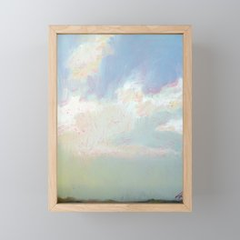 Farnese Cloudscape Framed Mini Art Print