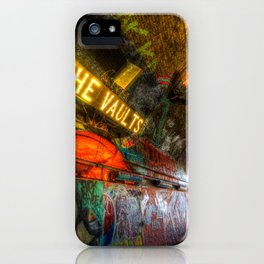 Leake Street London Vault iPhone Case