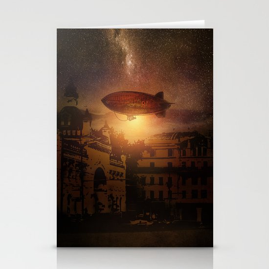 A Trip down the Sunset II Stationery Cards