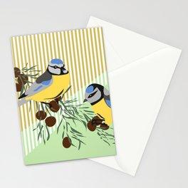 two birds in harmonie Stationery Cards