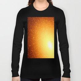 Golden Sun Stars Long Sleeve T-shirt