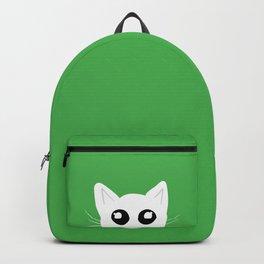 Peekaboo kitty cat Backpack
