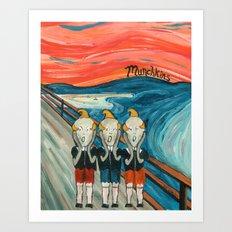 Munchkins Art Print