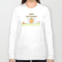 pumpkin thief Long Sleeve T-shirt