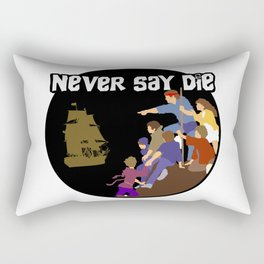 Goonies Never Say Die Rectangular Pillow