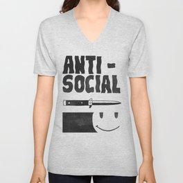 Antisocial Unisex V-Neck