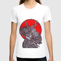 battlefield T-shirts featuring Shogun by Mongolizer