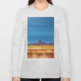 Gaucho at the Blood River Long Sleeve T-shirt