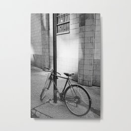 Brooklyn Bike Metal Print
