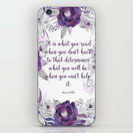 What You Read iPhone Skin