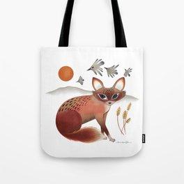 The Shy Fox Tote Bag