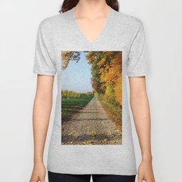 Autumn Chemin Nature Unisex V-Neck