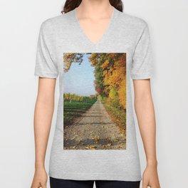 Autumn Chemin Nature Unisex V-Neck