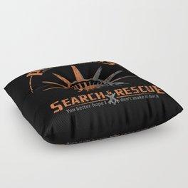 Snake Plissken's Search & Rescue Pty. Ltd. Floor Pillow