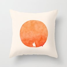 Poor Lonesome Cowboy Throw Pillow