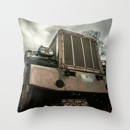 Rusty Warrior Throw Pillow