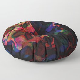 Puzzled Perspective Floor Pillow