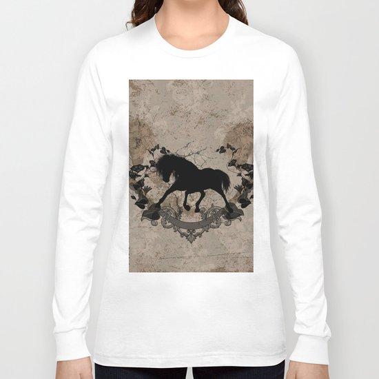 Horse silhouette Long Sleeve T-shirt