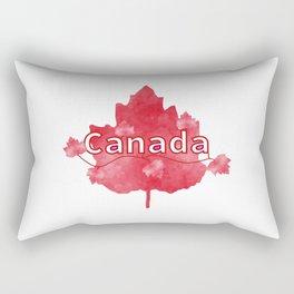 Canada Proud Rectangular Pillow