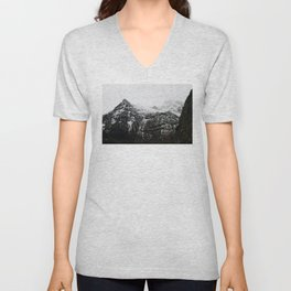Swiss Alps - v3 Unisex V-Neck