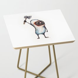 Beanman with Axe Side Table