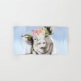 Petunia Pig Hand & Bath Towel