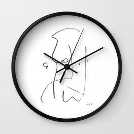 Demeter Moji d21 7-3 w Wall Clock