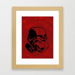 Stormtrooper Deco Digital Print Framed Art Print