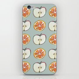 Comparing Apples to Oranges iPhone Skin
