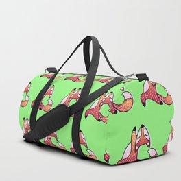 Cute And Fat Fox Duffle Bag