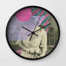 Cyclamen Girl Wall Clock