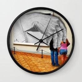 Escher's Revenge Wall Clock