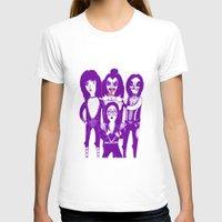 kiss T-shirts featuring Kiss by Paula García