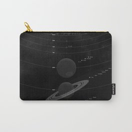 The Worlds (Black) Carry-All Pouch